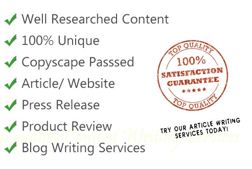 Content writing services from home india