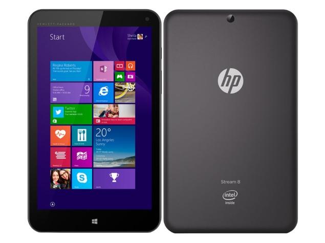 HP Stream 8 Quad-Core Windows 8.1 Tablet