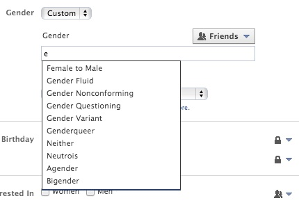 Facebook Includes Fill In The Blank As New Gender Option