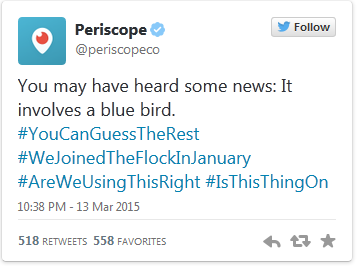 Twitter Acquires Live-streaming App Periscope