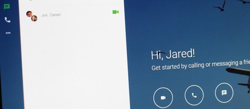 hangouts-web-interface