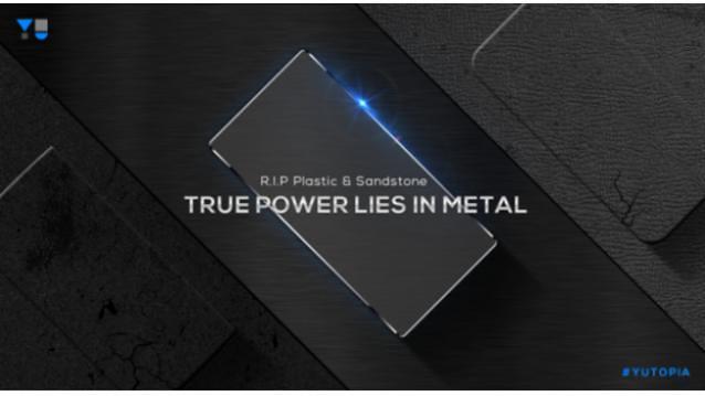 Yu Televenture Hints Metal Made Yutopia Smartphones This Diwali