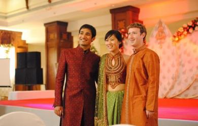 Mark Zuckerberg Sends His Diwali Greetings
