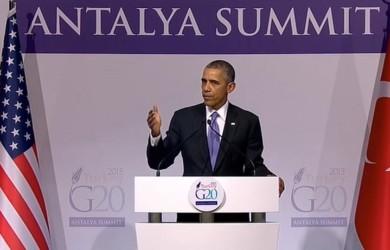 Full Speech Of Barack Obama In G20 Turkey Leaders summit