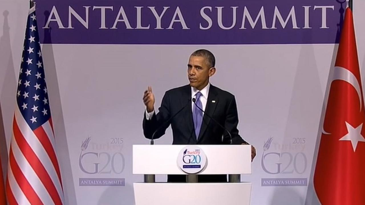 Full Speech Of Barack Obama In G20 Turkey Leaders summit