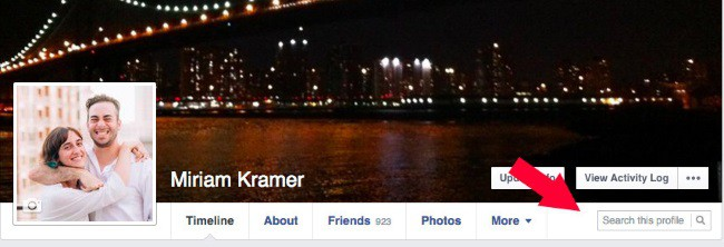 Facebook Tests Search This Profile Feature To Let You Search Other Profiles