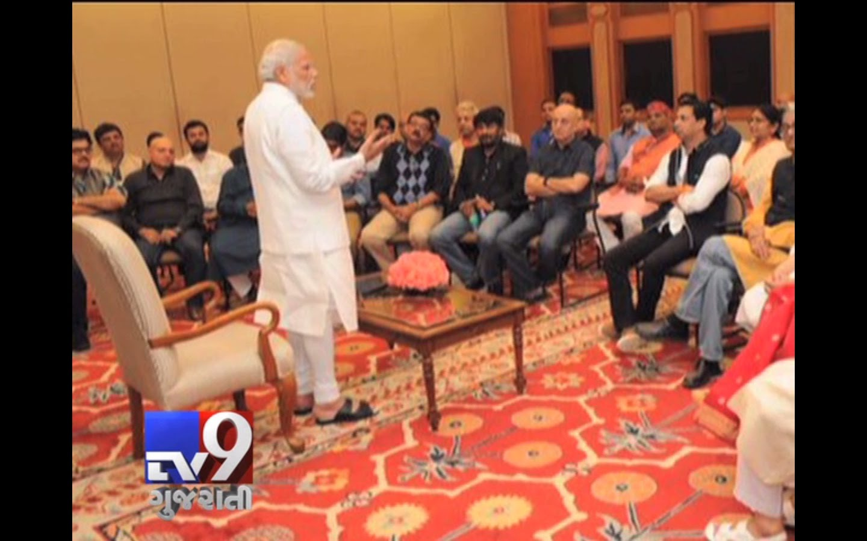 Anupam Kher And Team Met PM Modi