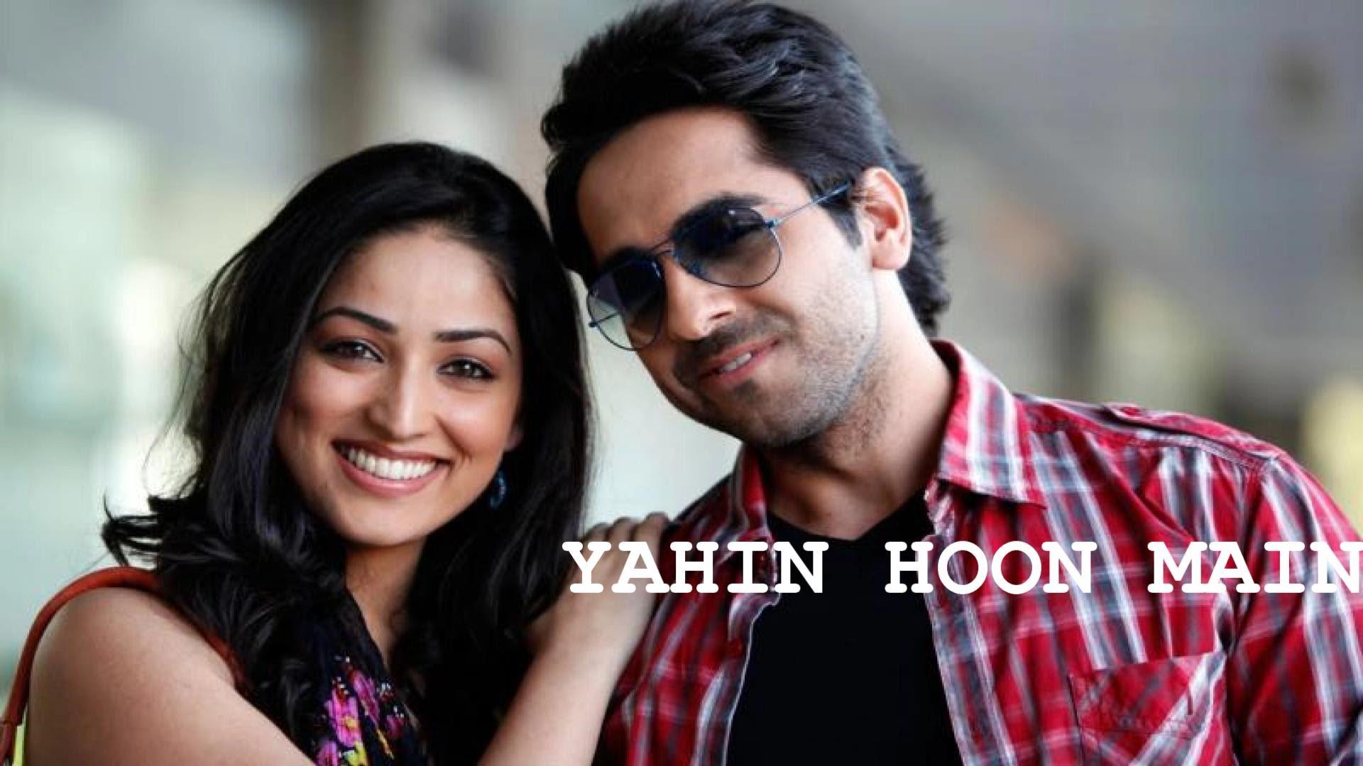 Yahin Hoon Main Song Featuring Ayushmann Khurrana
