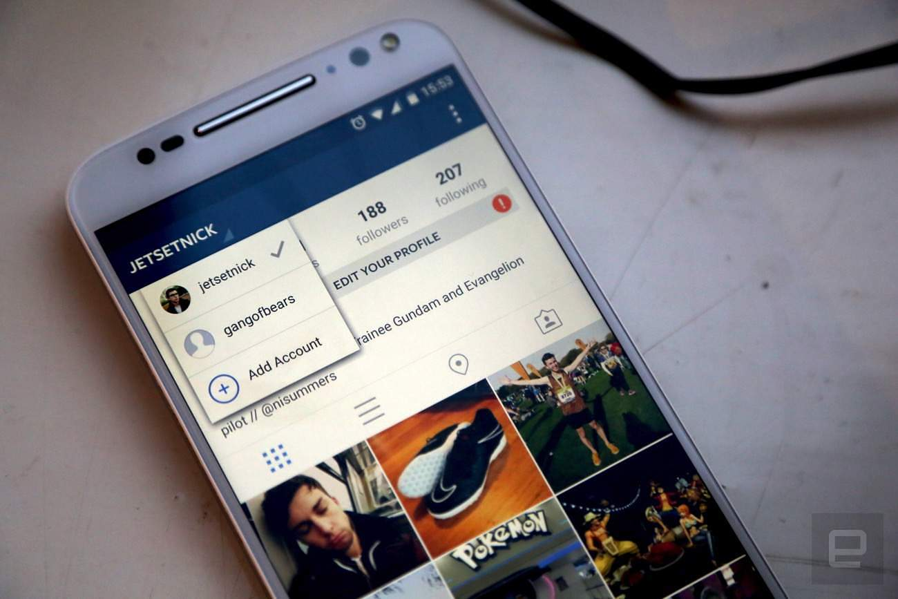 Instagram Rolls Out Support For Multiple Accounts