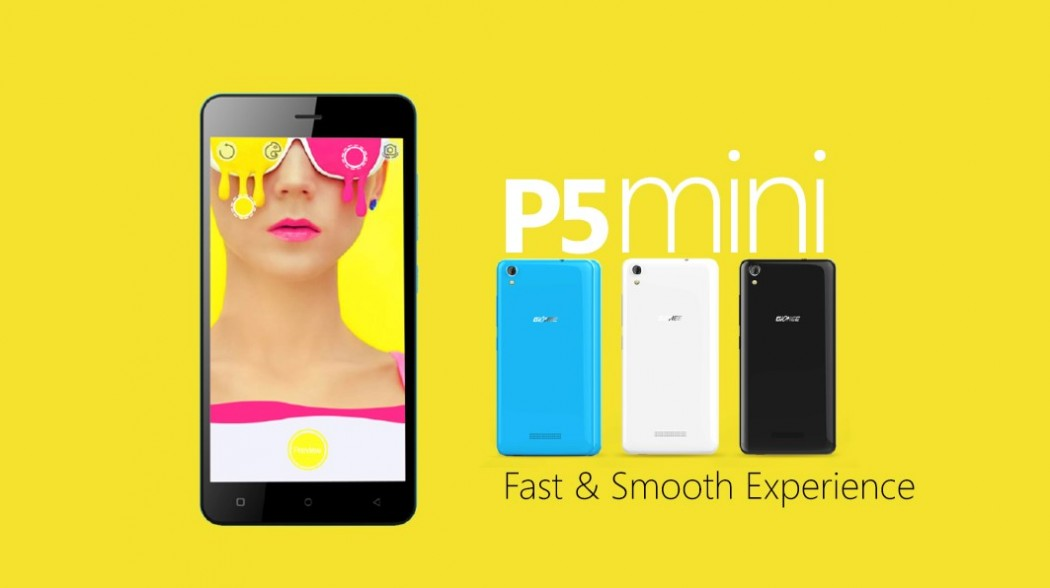 Gionee To Launch Gionee P5 Mini