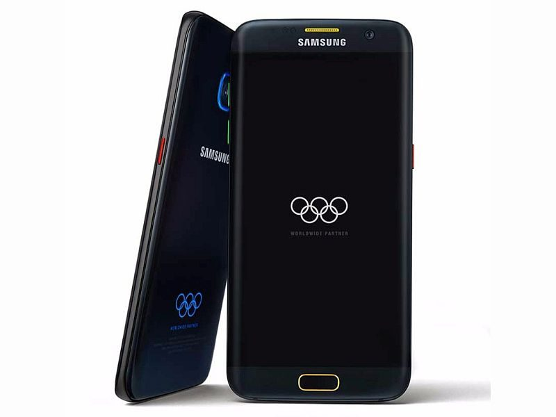 samsung launched limited edition galaxy s7 edge for rio