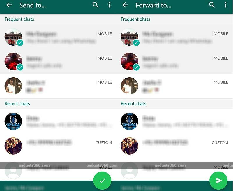 WhatsApp Voice Mail feature