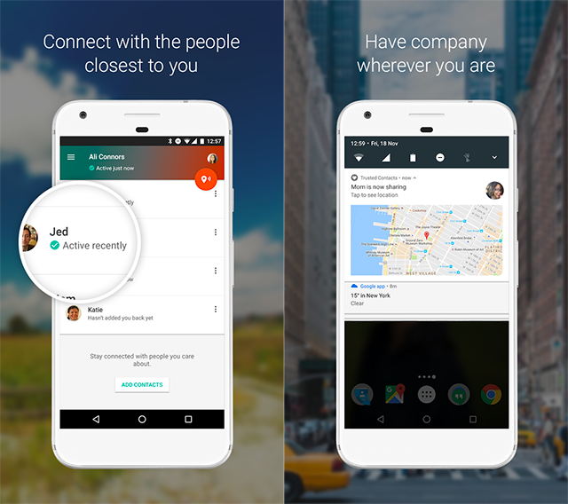Trusted Contact App