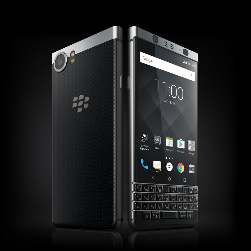 Blackberry KEYone Launched With QWERTY Keyboard and 3GB RAM