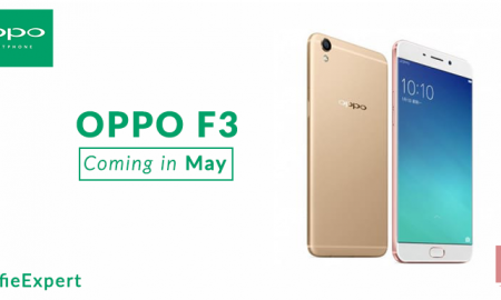 GADGETS Selfie Centric Oppo F3 Smartphone