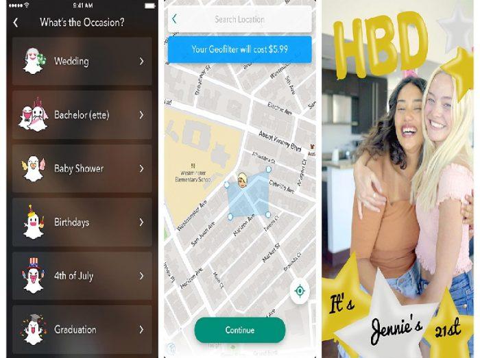 Snapchat Creative Geofilter Studio