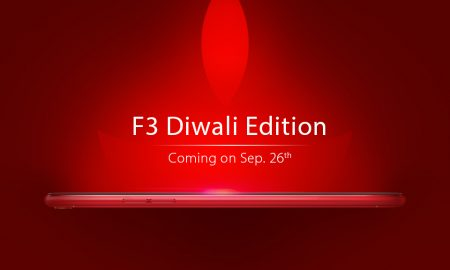 Oppo F3 Diwali Limited Edition