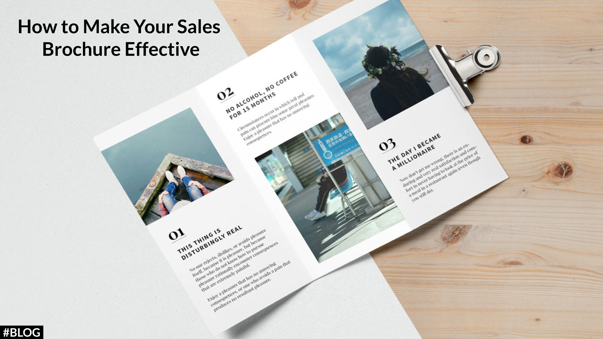 How to make an effective brochure