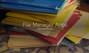 Best File Manager Apps for iPhone & iPad