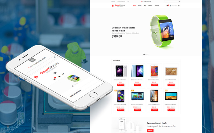 Top 10 Gadget Store eCommerce Themes