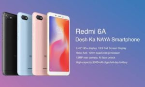 Amazon Exclusive: Grab Redmi 6A at Starting Price of Rs.5, 999