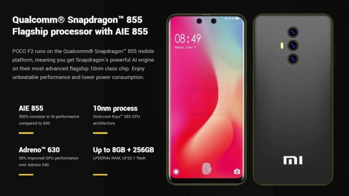 Xiaomi Poco F2 Leaks: Waterdrop Notch Expected - Blogging